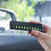 Табличка с номером телефона для автомобиля HOCO