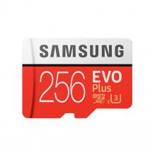 Карта памяти microSDXC Samsung EVO Plus 256Gb 4K Class10 UHS (U3) 100/90 Mb/s