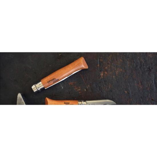 Нож Opinel №10 (углеродистая сталь, рукоять бук)