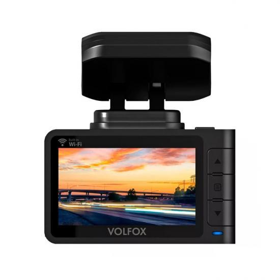 Видеорегистратор VOLFOX VF-4K900 DUO 2 Камеры