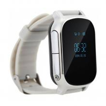 Детские часы с телефоном и GPS трекером Wonlex Smart Age Watch GW700 T58 Серебро