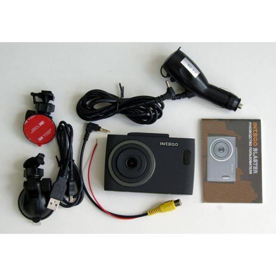 Видеорегистратор с радар-детектором 3 в 1 Intego Blaster