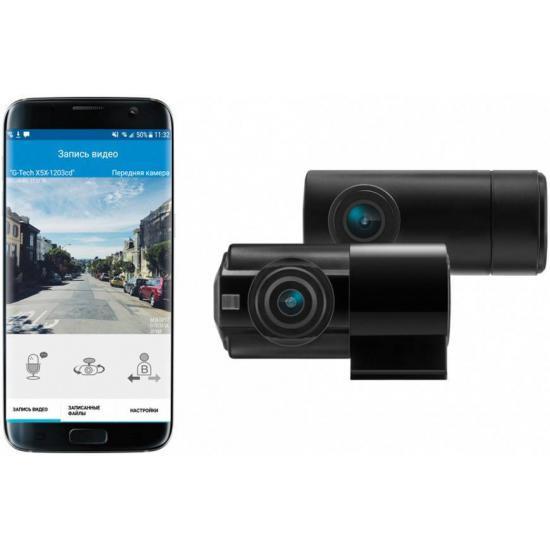 Видеорегистратор с двумя камерами Neoline G-Tech X52