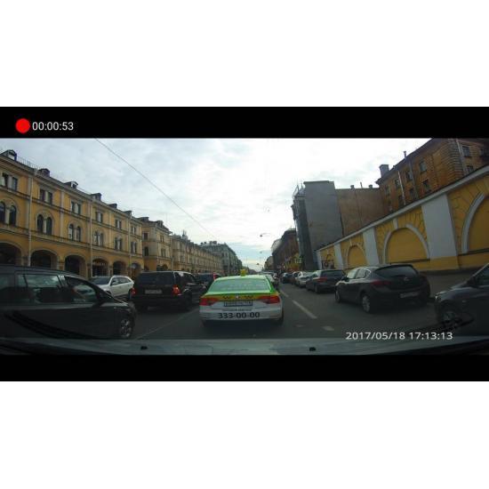 Видеорегистратор КАРКАМ U4 FullHD 2 камеры