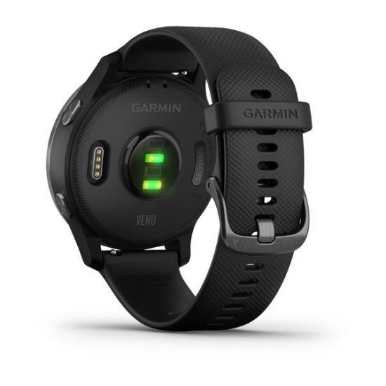 Часы Garmin Venu черные с серым безелем (010-02173-13)