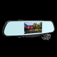 Видеорегистратор-зеркало с радар детектором Intego VX-685MR