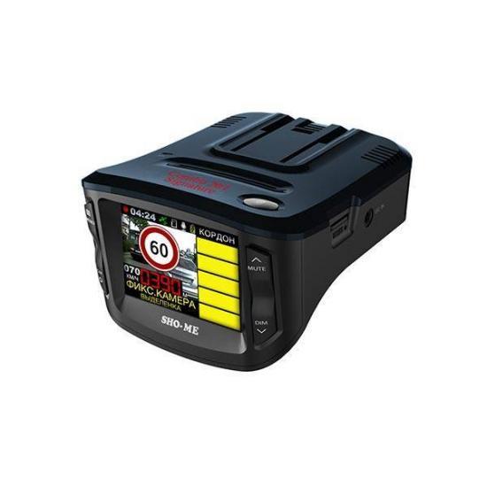 Видеорегистратор-детектор SHO-ME COMBO 1 Signature