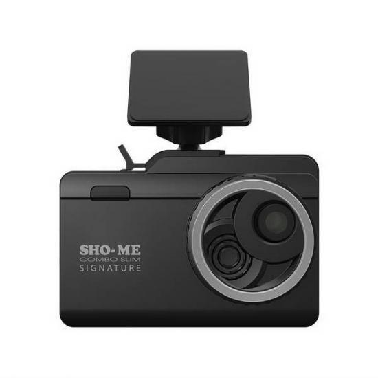 Видеорегистратор с радар-детектором 3 в 1 Sho-Me Combo Slim Signature