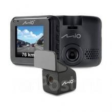 Видеорегистратор с камерой заднего вида Mio MiVue C380D