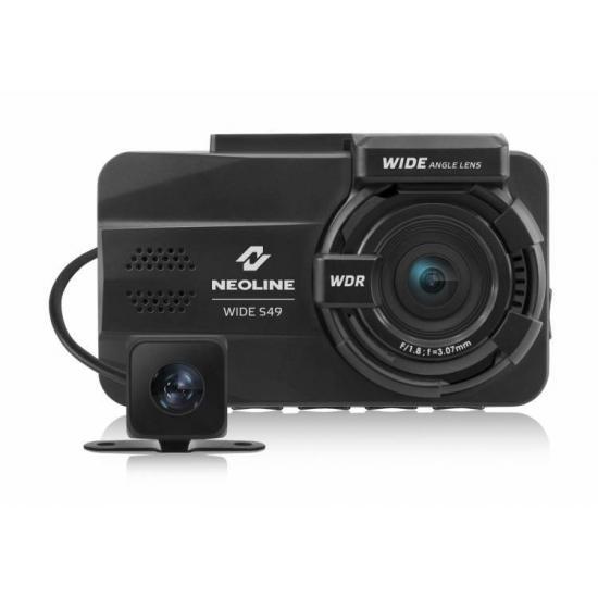 Видеорегистратор с 2 камерами Neoline Wide S49