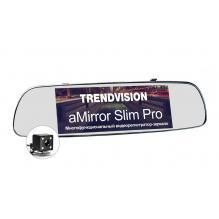 Видеорегистратор с камерой заднего вида TrendVision aMirror Slim Pro