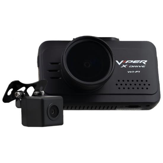 Видеорегистратор Viper X Drive Wi-FI Duo c салонной камерой