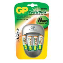 Зарядное устройство GP с аккумуляторами GP 2700mAh (4шт)