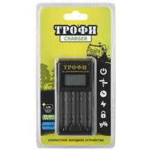 Зарядное устройство ТРОФИ TR-803 AA LCD скоростное + 2РК06 2500 мAh