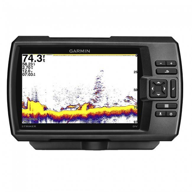 эхолот garmin striker 7dv 163